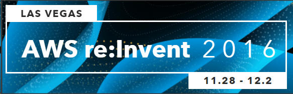 AWS re:Invent 2016 event in Las Vegas.